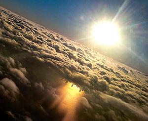 Khung cảnh tuyệt đẹp bạn chỉ có thể nhìn thấy trên máy bay