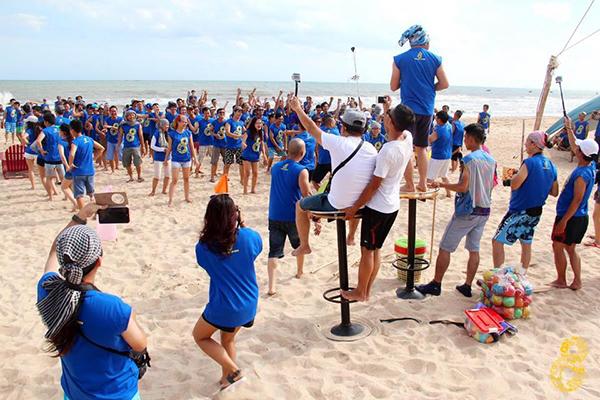 teambuilding tai coco beach camp