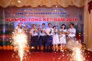 HỘI NGHỊ TỔNG KẾT 5 TỈNH THÀNH NĂM 2016 - CÔNG TY THÍ NGHIỆM ĐIỆN MIỀN NAM