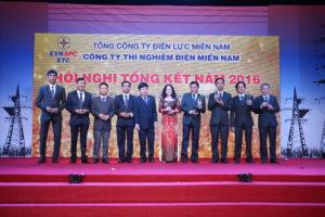 HỘI NGHỊ TỔNG KẾT NĂM 2016 TẠI TP HCM - CÔNG TY THÍ NGHIỆM ĐIỆN MIỀN NAM