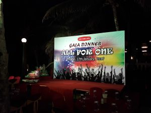 GALA DINNER ALL FOR ONE - CTY BẢO HIỂM DAI-ICHI LIFE