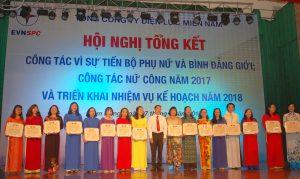 Hội nghị Tập huấn Công tác Nữ công 2018 - Tổng Công ty Điện lực miền Nam