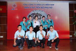 Hội thi Nét đẹp Phụ nữ ngành Điện - Tổng công ty Điện lực Miền Nam